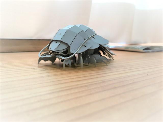 3Dペーパーパズルダイオウグソクムシ
