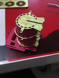 3Dペーパーパズル蒸気機関車