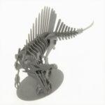 3Dペーパーパズルスピノサウルス<L>