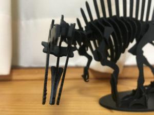 3Dペーパーパズルスピノサウルス<Lサイズ>04