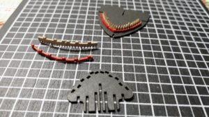 3Dペーパーパズルホオジロザメ007