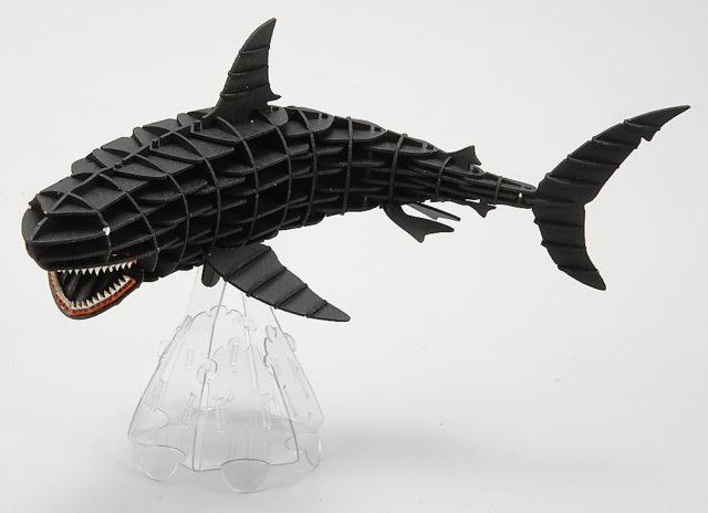 3DペーパーパズルDXホオジロザメ